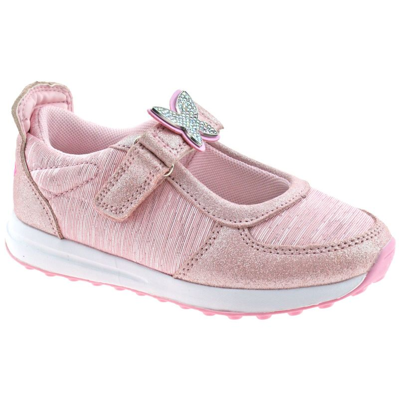 Lelli Kelly LK7855 (GC01) Glitter Rosa Colorissima Dolly Trainer Shoes