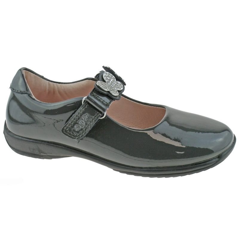 Lelli Kelly LK8309 (DR01) Love Grey Patent School Shoes F Fitting