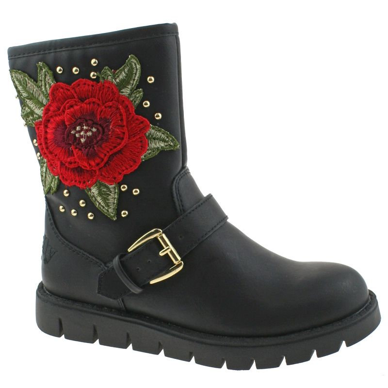 Lelli Kelly LK7452 (AB01) Matilde Nero/Rosso Ankle Boots