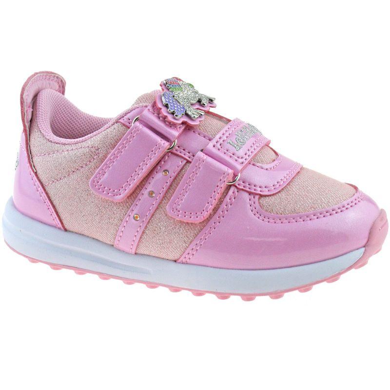 Lelli Kelly LK7853 (AC41) Colorissima Lights Rosa Pink Unicorn Adjustable Shoes