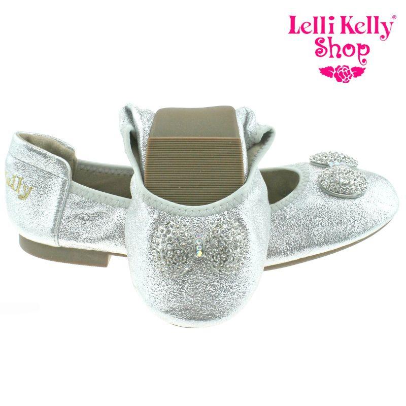 Lelli Kelly LK4102 (AH01) Argento Glitter Magiche Shoes