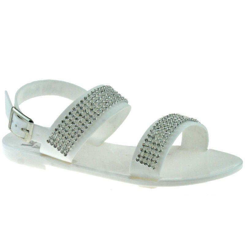 Lelli Kelly LK9954 (AA88) Granita Coconut White Jelly Sandals