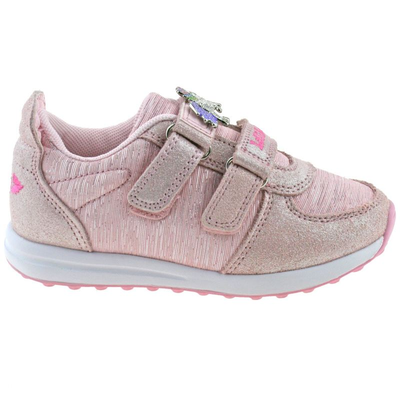 Lelli Kelly LK7857 (AC51) Colorissima Rosa Pink Shimmer Unicorn Adjustable Shoes