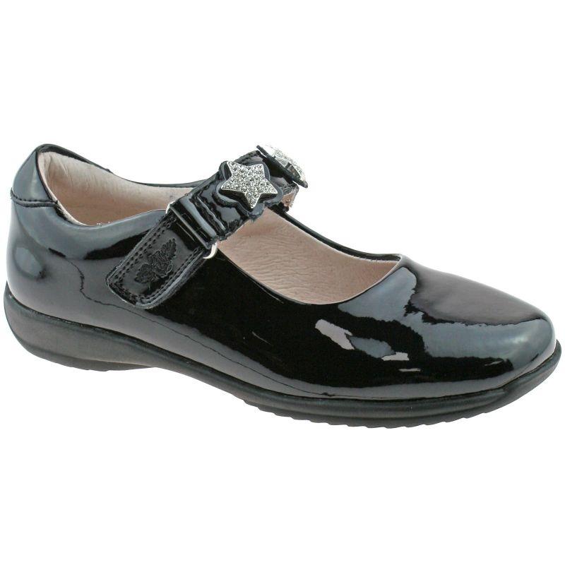 Lelli Kelly LK8316 (DB01) Blaze Black Patent Interchangeable School Shoes