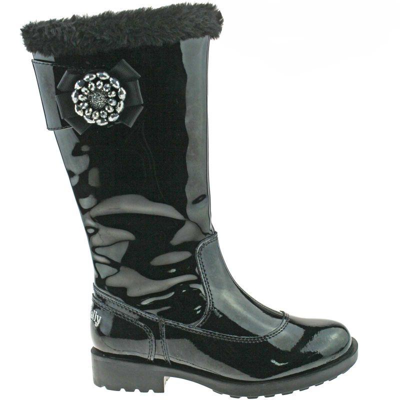Lelli Kelly LK8594 (DB01) Hilary Nero Vernice Boots