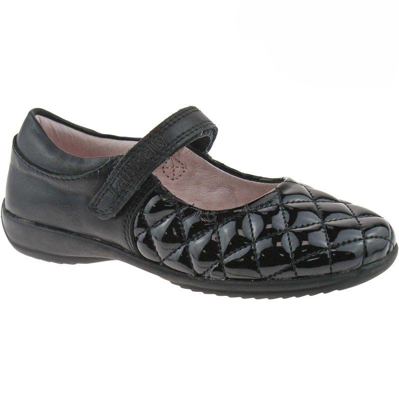 Lelli Kelly LK8210A Black Patent Leather (DB01) Mia School Shoes F Width