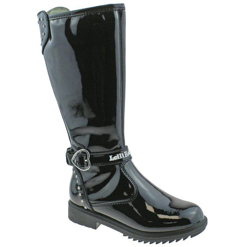 Lelli Kelly LK3648 (DB01) Charlotte Black Patent Boots