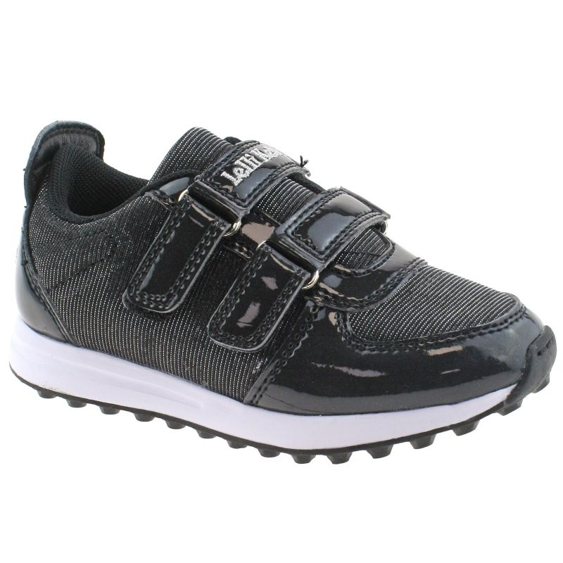 Lelli Kelly LK7860 (FB01) Colourissima Nero Vernice Interchangeable Trainers