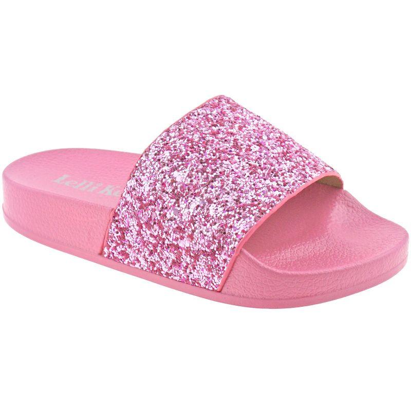 Lelli Kelly LK9902 (AC01) Marina Rosa Glitter Slider Sandals