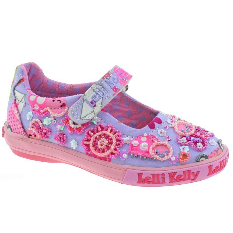 Lelli Kelly LK5050 (BM02) Lilac Fantasy Jackie Dolly Shoes
