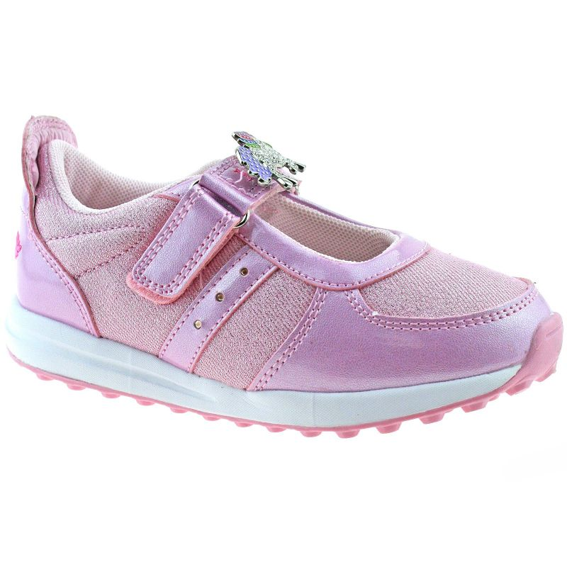 Lelli Kelly LK7843 (AC41) Light Up Colorissima Rosa Dolly Trainer Shoes