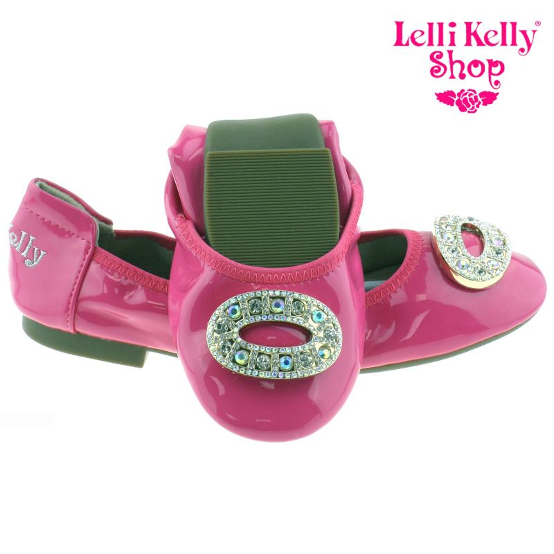 Lelli Kelly LK4106 (AN01) Fuxia Patent Magiche Shoes