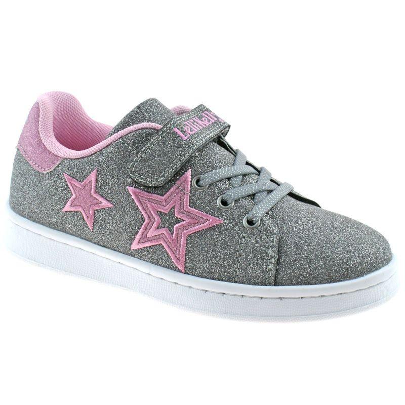 Lelli Kelly LK6815 (HT01) Hermoine Peltro Metallic Trainer Shoes