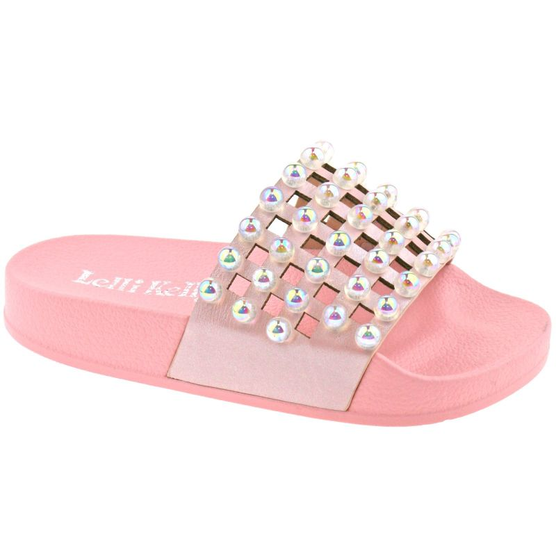 Lelli Kelly LK9915 (AC01) Rosa Vittoria Pearlescent Slider Sandals
