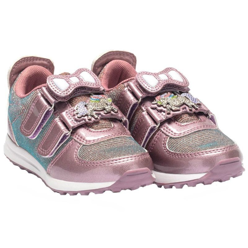 Lelli Kelly LK7861 (FCH4) Colorissima Cipria Vernice Interchangeable Trainers