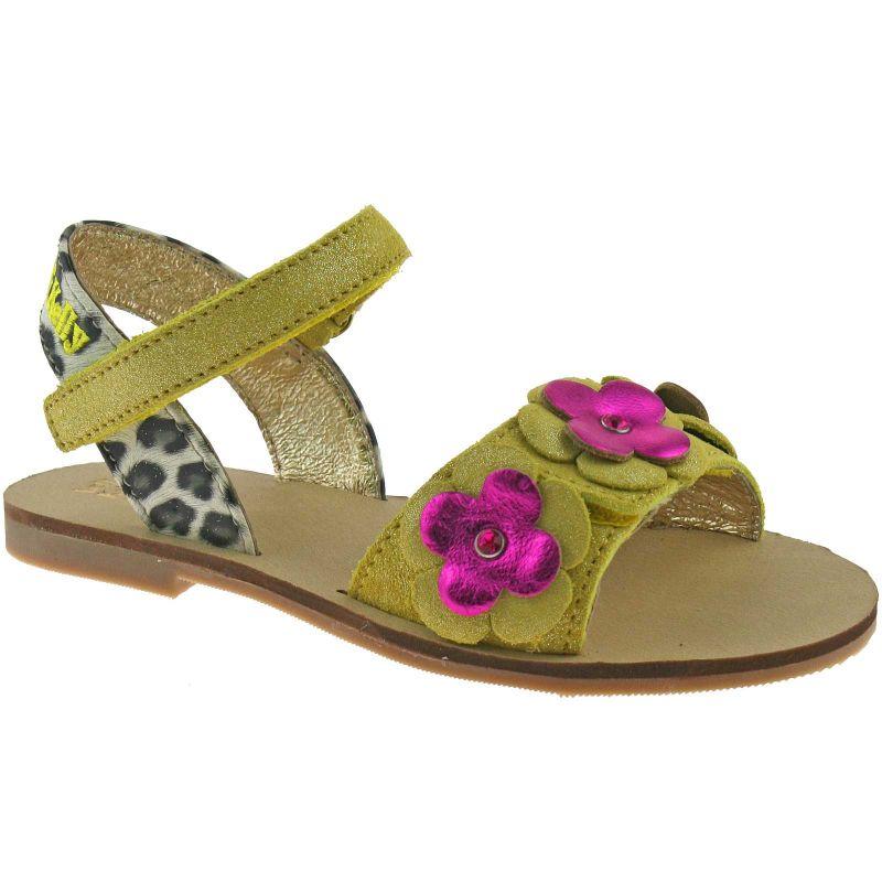 Lelli Kelly LK7463 (AX66) Multi Yellow Cinzia Sandals