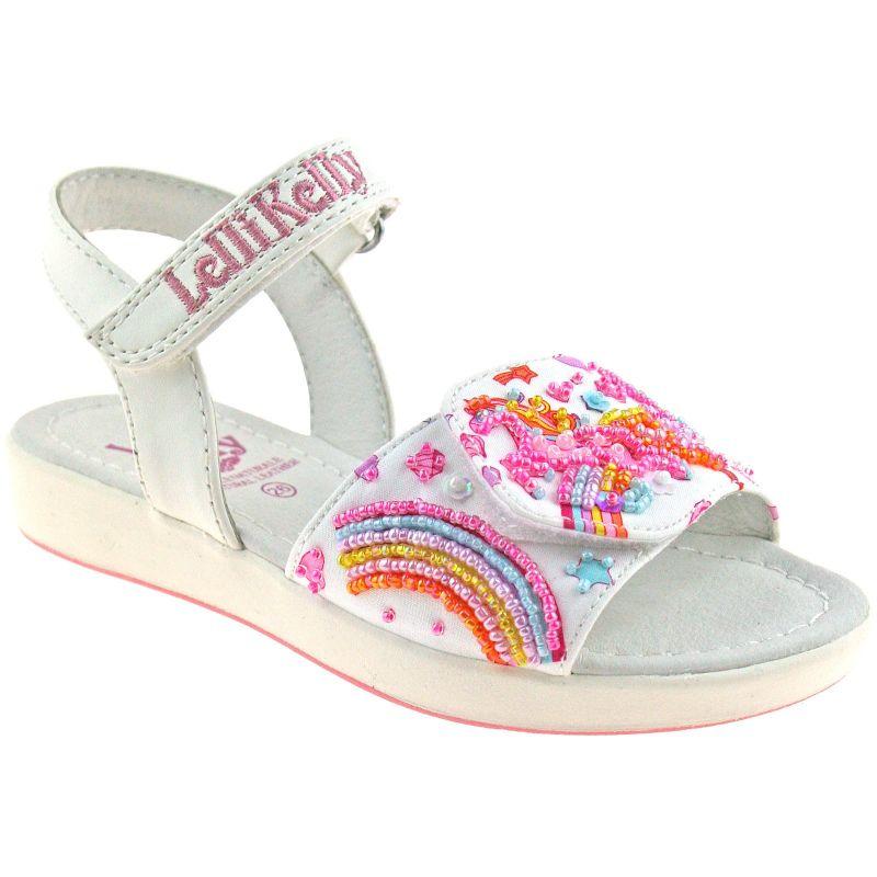 Lelli Kelly LK1410 (BA02) White Fantasy Doroty Unicorn Sandals