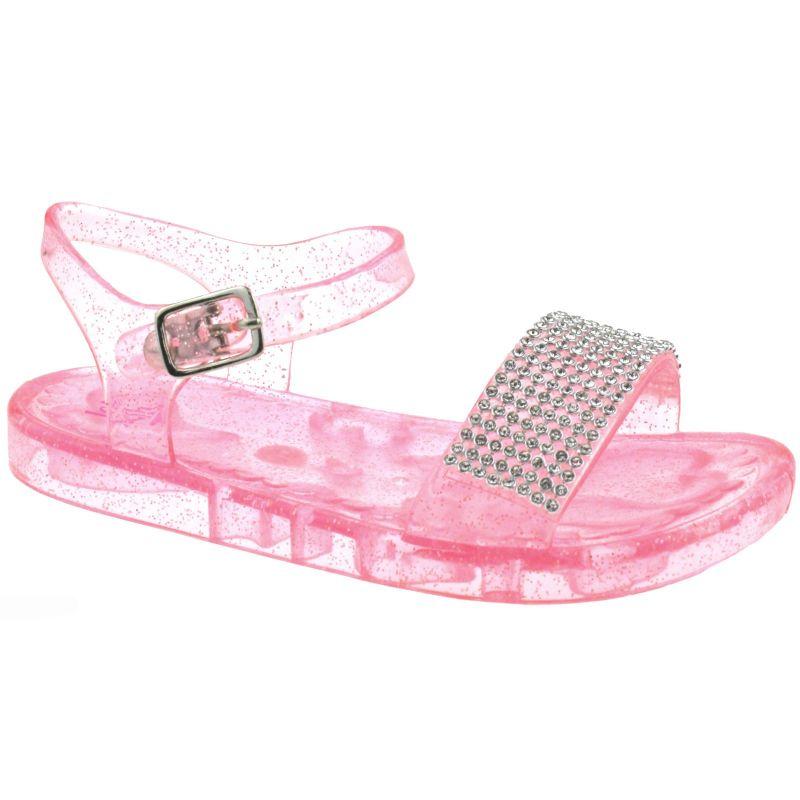 Lelli Kelly LK4914 (AD89) Strawberry Seychelles Diamante Jelly Sandals